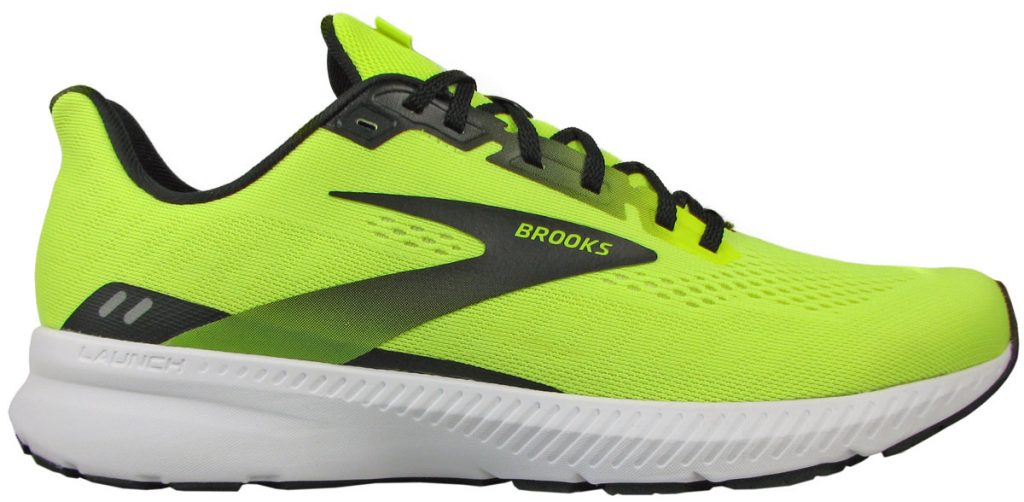 The upper of the Brooks Launch 8.