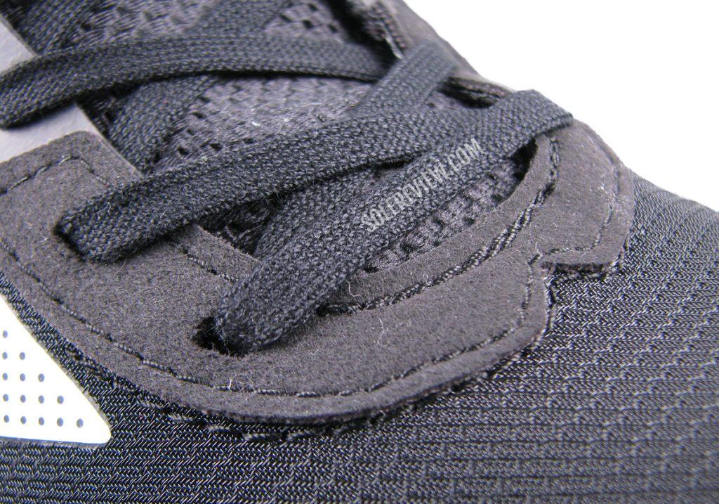 The laces of the adidas adizero Boston 10.
