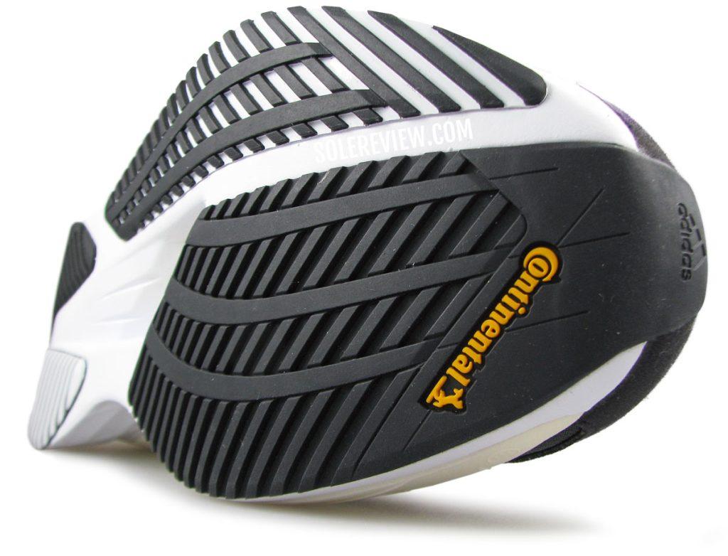 adidas adizero Boston 10 Continental rubber outsole